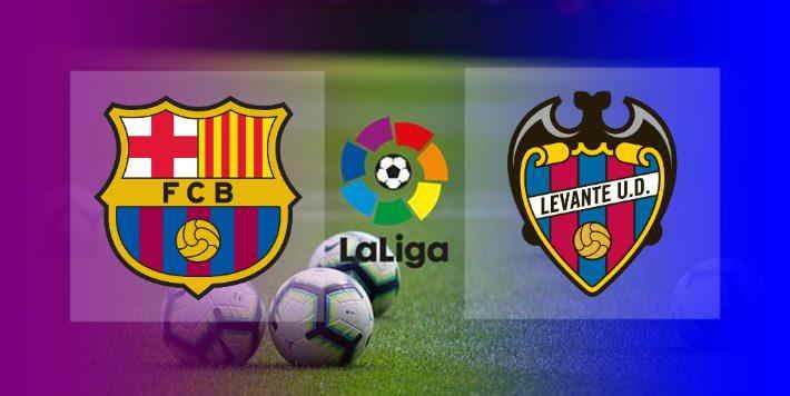 Hasil barcelona vs Levante Malam Ini
