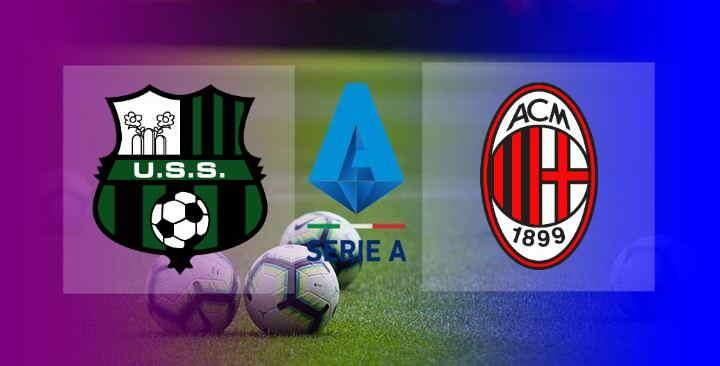 Hasil Sassuolo vs AC Milan Skor Akhir 1-2