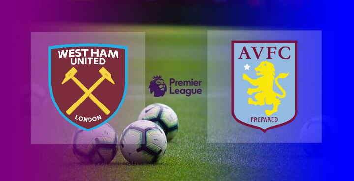 Hasil West Ham vs Aston Villa