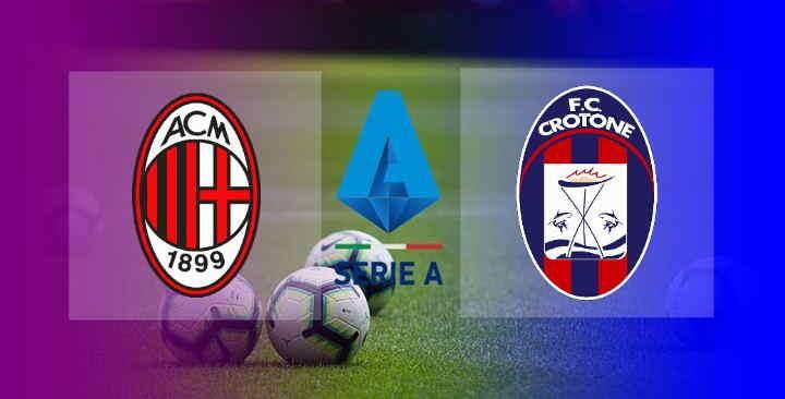 Hasil AC Milan vs Crotone