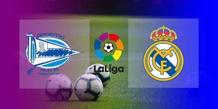 Hasil Alaves vs Real Madrid