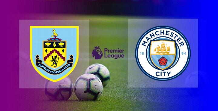 Hasil Burnley vs Manchester City