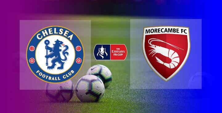 Hasil Chelsea vs Morecambe