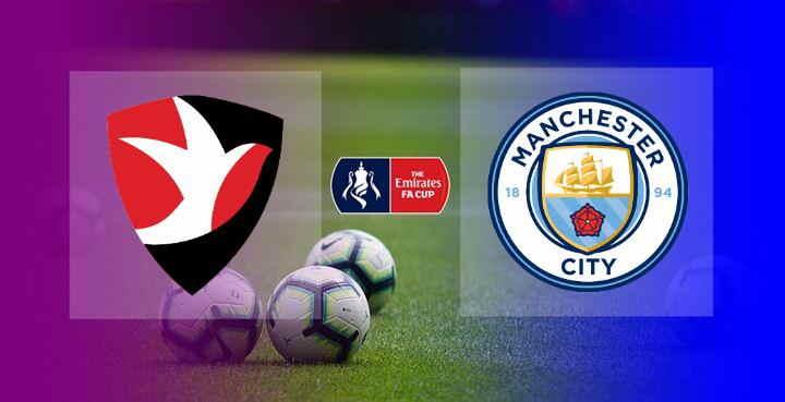 Hasil Cheltenham Town vs Manchester City