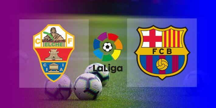 Hasil Elche vs Barcelona