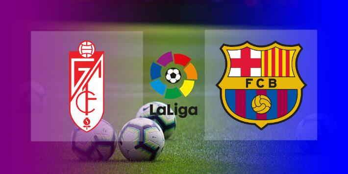 Hasil Granada vs Barcelona Skor Akhir 0-4