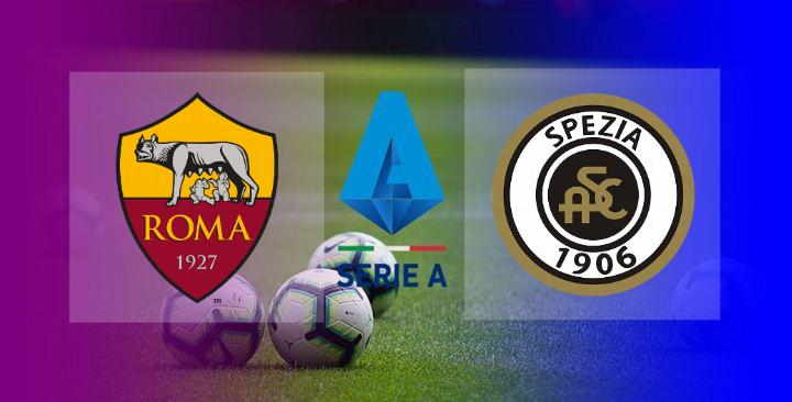 Hasil Roma vs Spezia 4-3