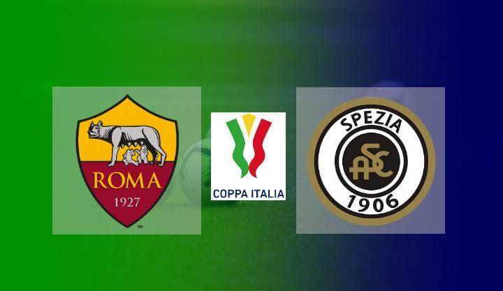 Hasil Roma vs Spezia Coppa Italia