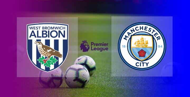 Hasil West Brom vs Manchester City