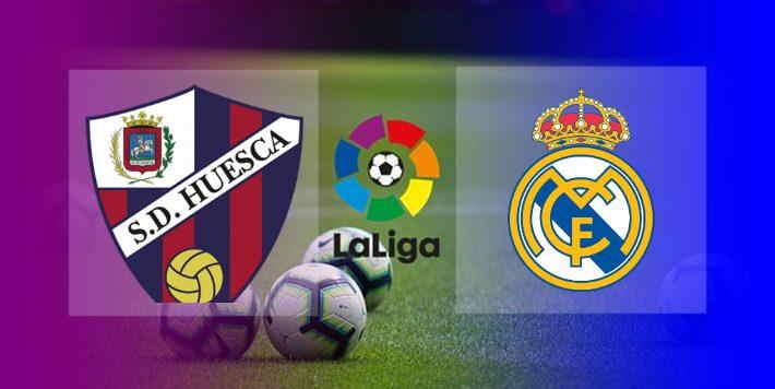 Hasil Huesca vs Real Madrid