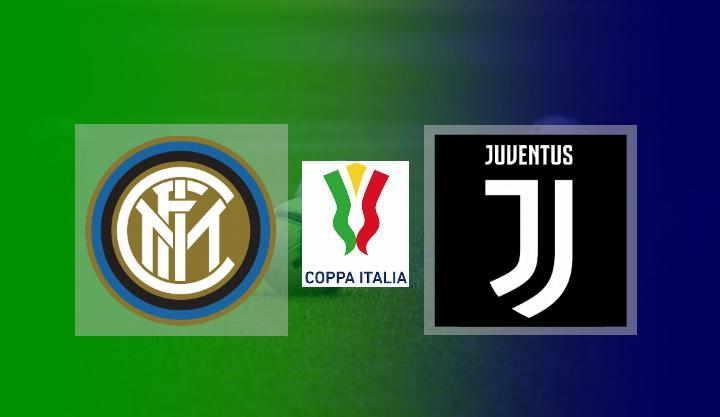 Hasil Inter Milan vs Juventus Coppa Italia Semifinal Leg 1