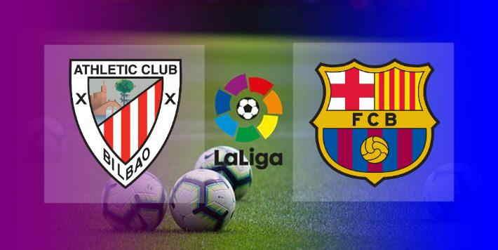 Hasil Athletic Bilbao vs Barcelona Skor akhir 2-3