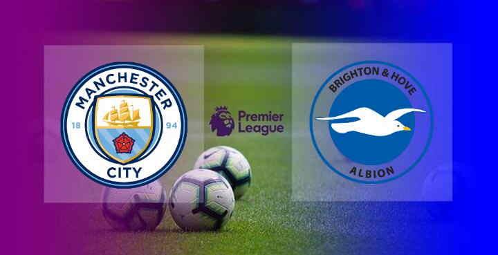 Hasil Manchester City vs Brighton Skor Akhir 1-0