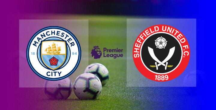 Hasil Manchester City vs Sheffield United