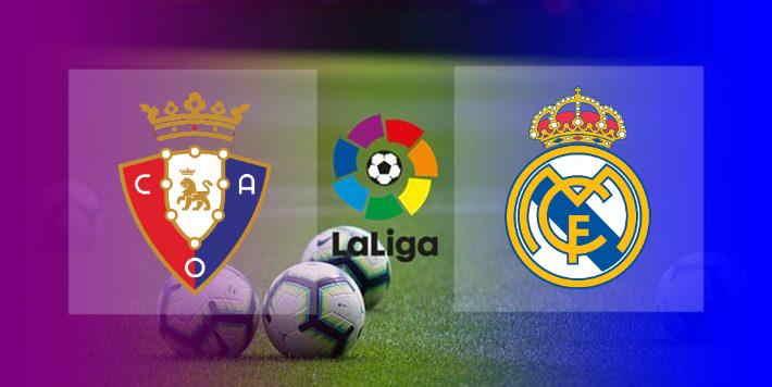 Hasil Osasuna vs Real Madrid