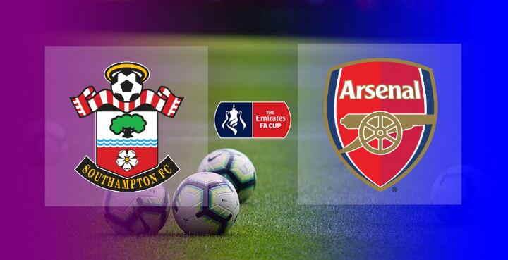 Hasil Southampton vs Arsenal Skor
