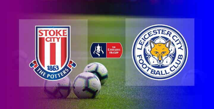 Hasil Stoke City vs Leicester City Skor Akhir 0-4