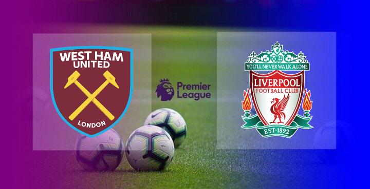 Hasil West Ham vs Liverpool