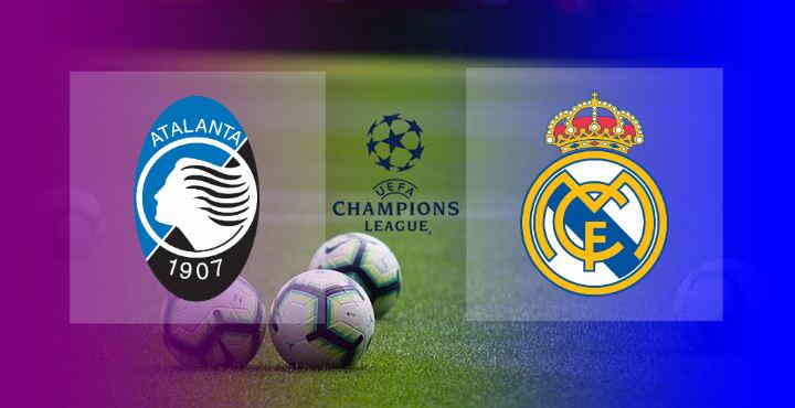 Hasil Atalanta vs Real Madrid
