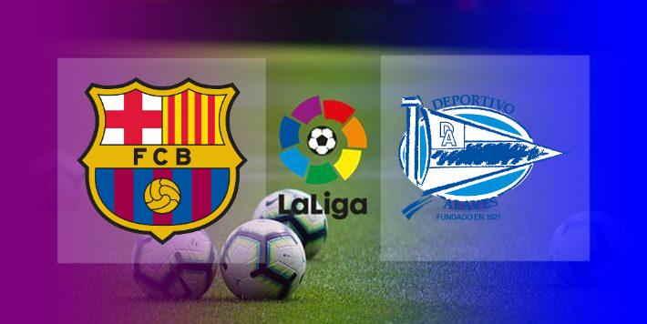 Hasil Barcelona vs Alaves