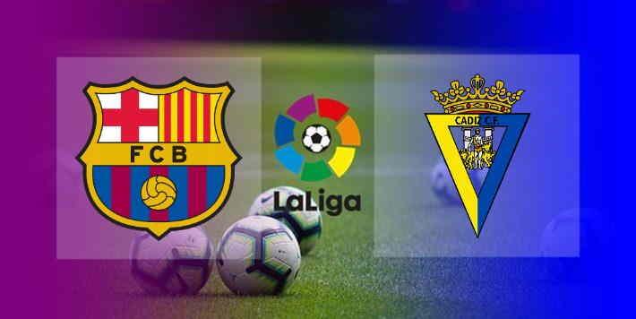 Hasil Barcelona vs Cadiz