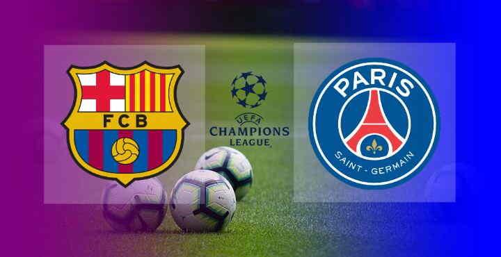 Hasil Barcelona vs PSG UCL Tadi Malam