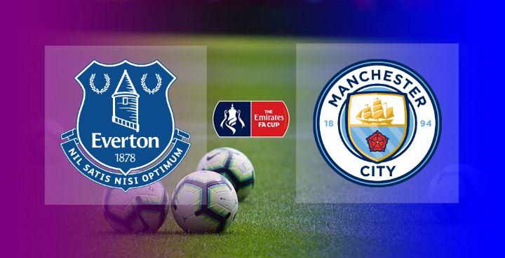 Hasil Everton vs Manchester City