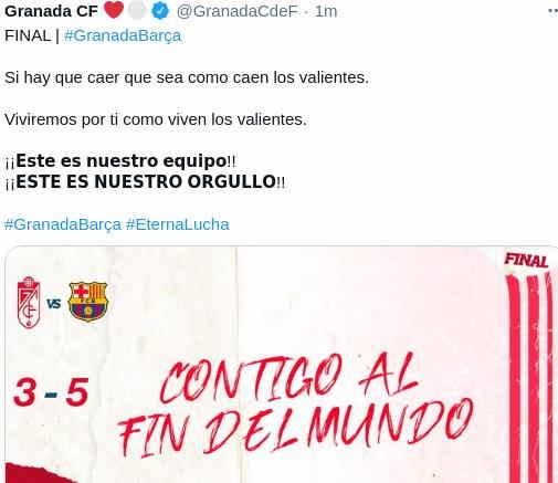 Hasil Granada vs Barcelona Copa Del rey
