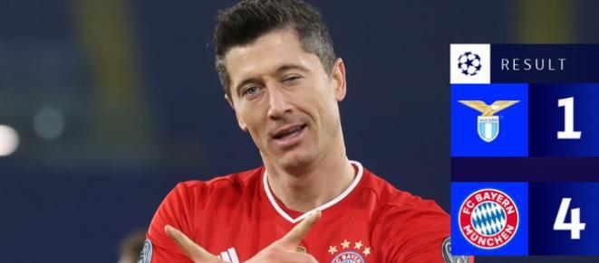 Hasil Lazio vs Bayern Munchen 1-4