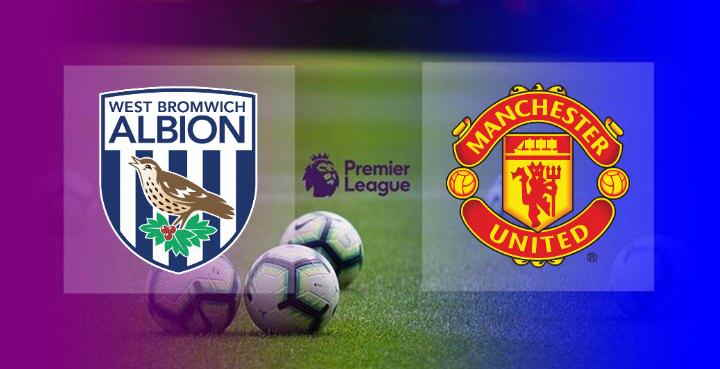 Hasil West Brom vs Manchester United