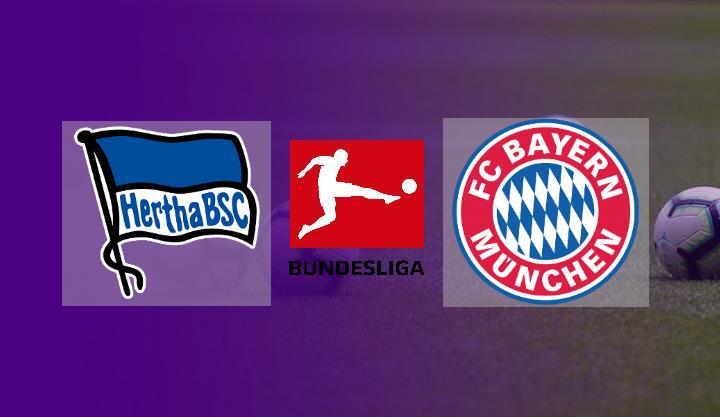 Hasil Hertha Berlin vs Bayern Munchen