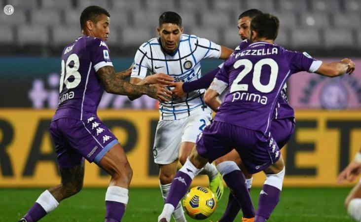 Menang 2-0 dari Fiorentina, Inter Milan Rebut Puncak Klasemen dari AC Milan