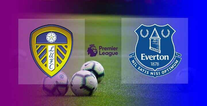 Hasil Leeds United vs Everton skor 1-2