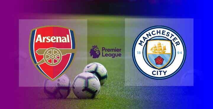 Hasil Arsenal vs Manchester City