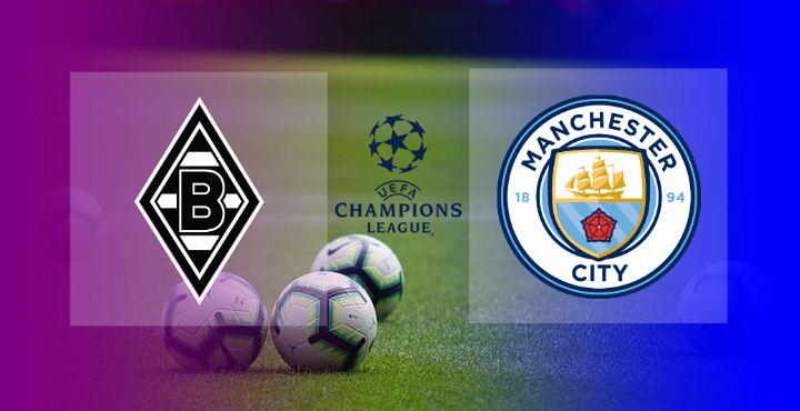 Hasil Monchengladbach vs Manchester City