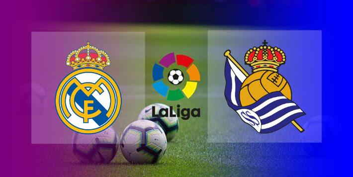 Live Streaming Real Madrid vs Real Sociedad