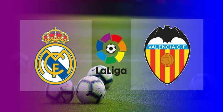 Hasil Real Madrid vs Valencia