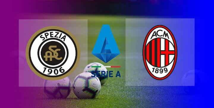 Hasil Spezia vs AC Milan