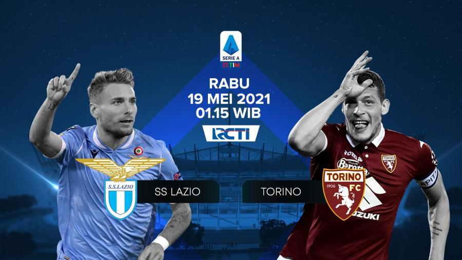 Live Streaming LAzio vs Torino Malam Ini Gratis
