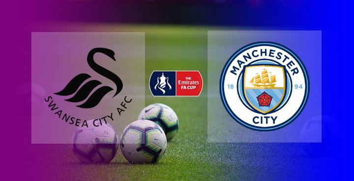 Hasil Swansea vs Manhcester City