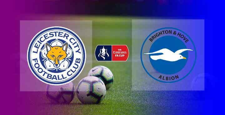 Hasil Leicester City vs Brighton