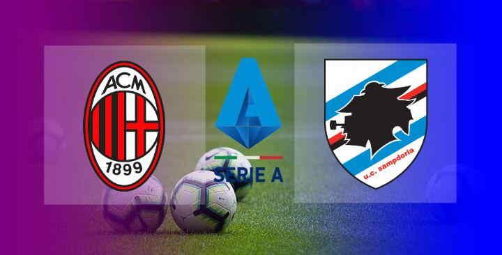 Hasil AC Milan vs Sampdoria