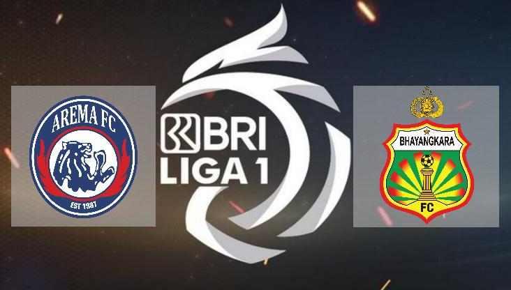 Hasil Arema FC vs Bhayangkara Solo FC