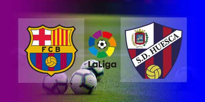 Hasil Barcelona vs Huesca