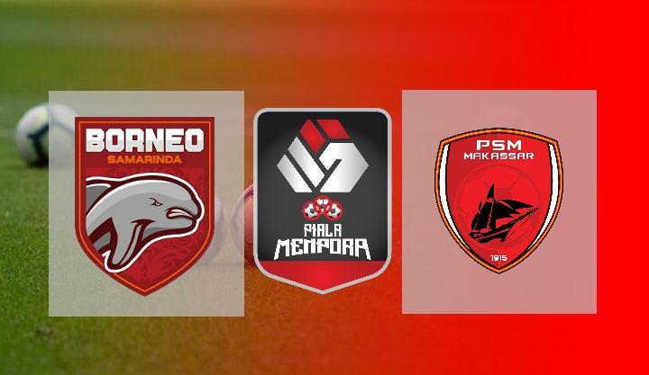 Hasil Borneo FC vs PSM Makasar
