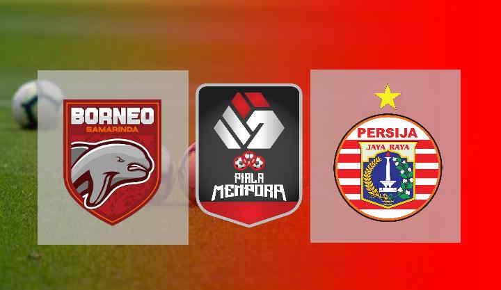 Hasil Borneo FC vs Persija