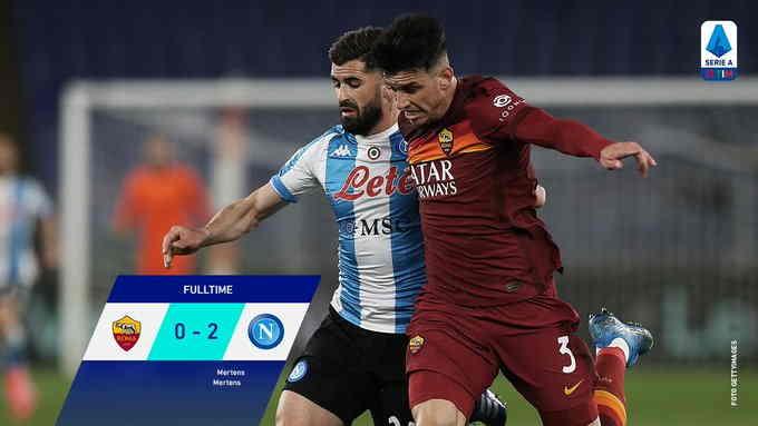 Hasil AS Roma vs Napoli pekan 28