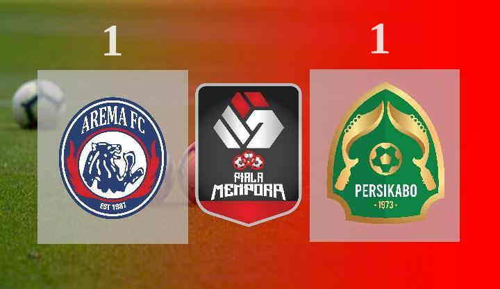 Hasil Arema FC vs Persikabo 1973