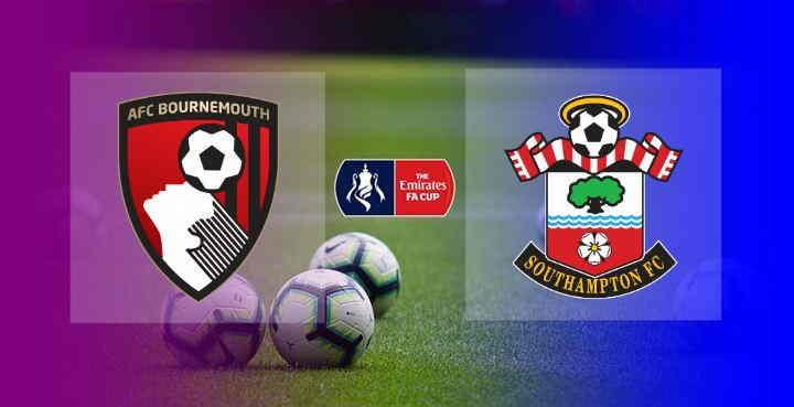 Hasil Bournemouth vs Southampton FA Cup