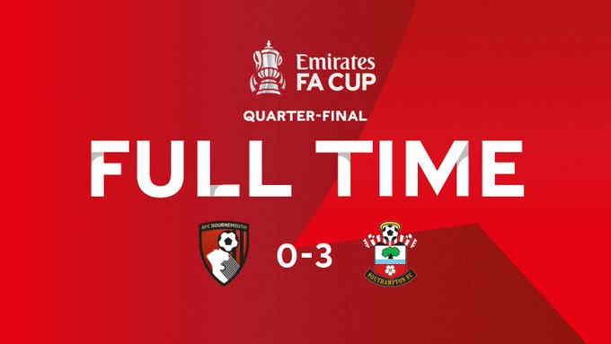 Hasil Bournemouth vs Southampton